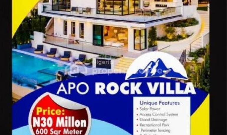 Cheap Estate Land For Sale in Apo Rock Villa Estate,Abuja