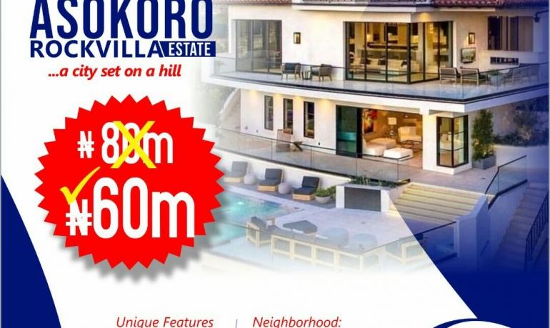 Asokoro Rock Villa Estate Amazing Offer in  Asokoro Extension, Abuja
